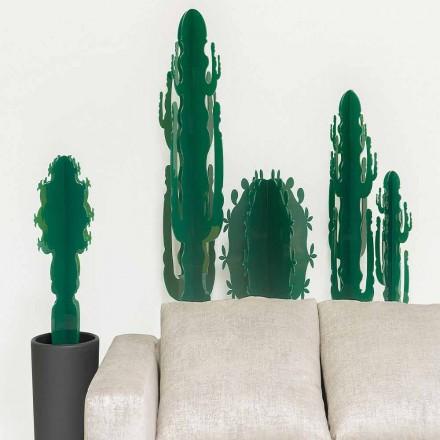Roślina ozdobna w pleksi, w kilku kolorach, H 102 cm, Braies