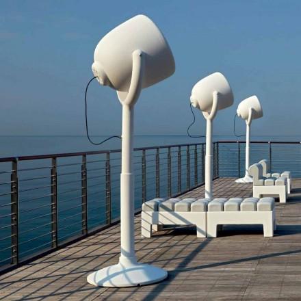 Zewnętrzna lampa podłogowa Poleasy Design, 2 kolory - Hollywood by Myyour