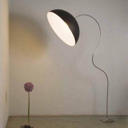 Nowoczesna lampa podłogowa In-es.artdesign w kolorze nebulitu Half Moon