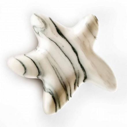 Nowoczesny spodek marmurowy w kształcie rozgwiazdy Made in Italy - Ticcio