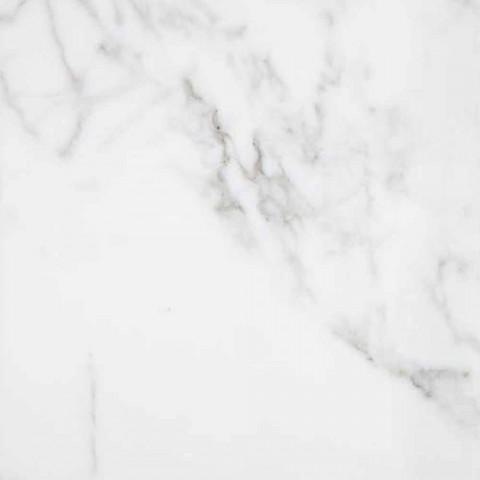 Biała marmurowa mydelniczka Carrara Made in Italy - Sismo