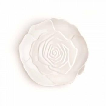 12 sztuk Porcelanowa elegancka ręcznie zdobiona talerz upominkowy - Rafiki