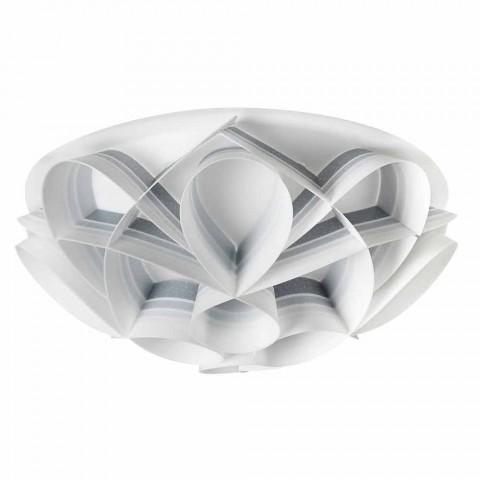 Lampa sufitowa 2 świeci nowoczesnym wzornictwem, średnica 43 cm, Lena, wyprodukowano we Włoszech