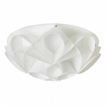 Lampa sufitowa made in Italy biała perła, śred. 51 cm Lena