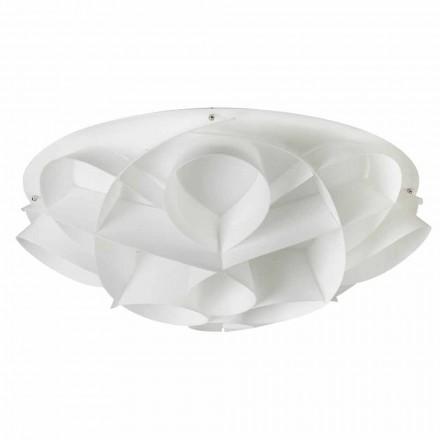 Lampa sufitowa design biała perła Lena, śred. 70 cm