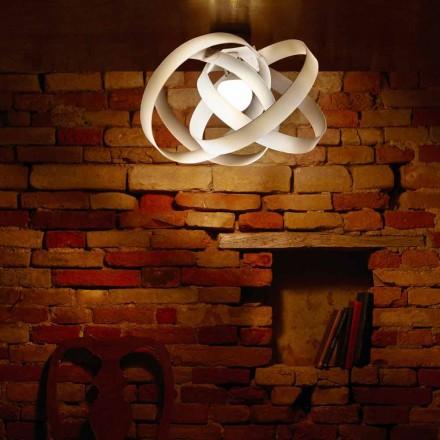 Lampa sufitowa z metakrylanu, średnica 56 cm, Ferdi made in Italy