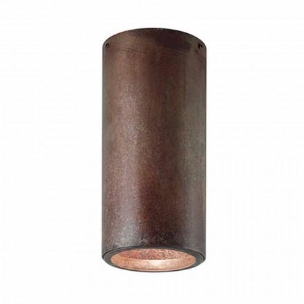 Lampa sufitowa z żelaza o mosiądzu Girasoli od Il Fanale