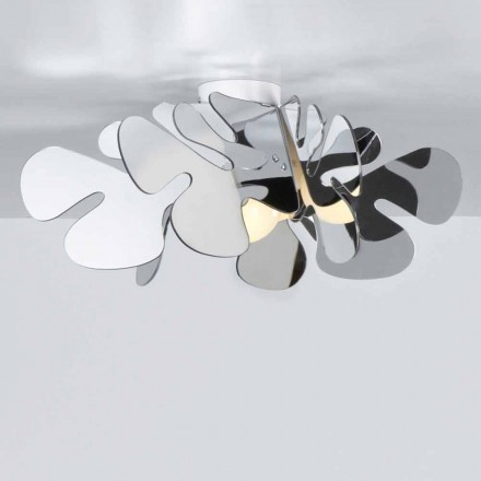 Lampa sufitowa design z metakrylanu chromolite  53x53 cm Debora