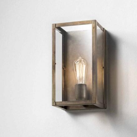 Lampa ścienna z żelaza vintage London od Il Fanale