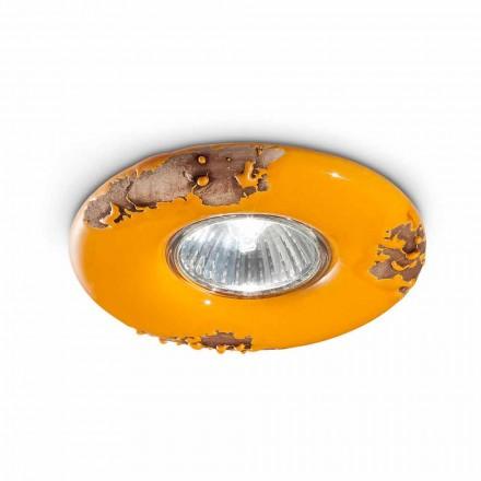 Lampa sufitowa okrągła ceramiczna Paula Ferroluce