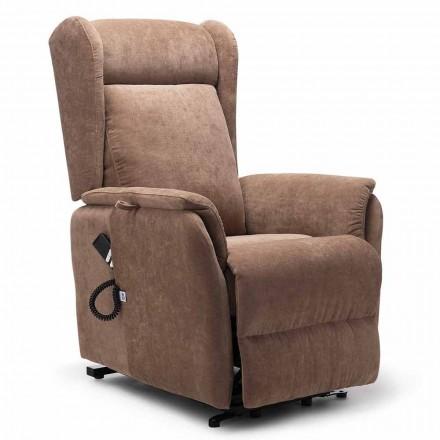 Krzesło Lift Relax z 2 silnikami, na kółkach, wysoka jakość - Juliette