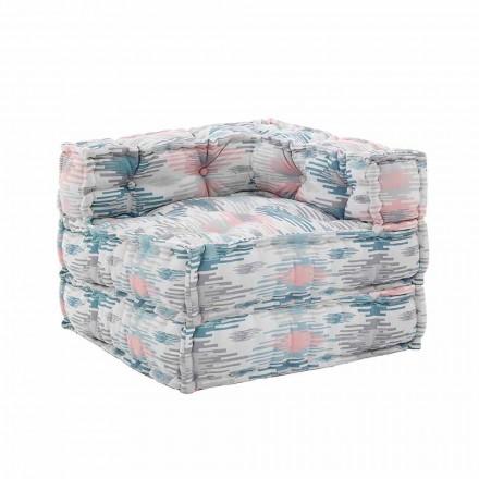Wewnętrzny lub zewnętrzny fotel szezlong z wodoodpornego materiału - Shamo