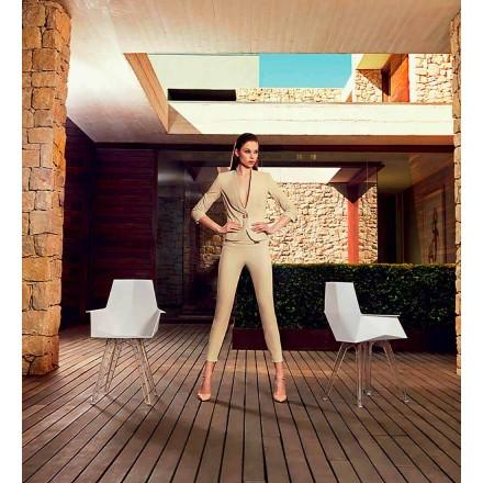Fotel z kolekcji Faz firmy Vondom, z polipropylenu i poliwęglanu