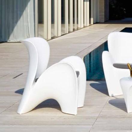 Zaprojektuj kolorowy plastikowy fotel do użytku na zewnątrz lub do wewnątrz - Lily by Myyour