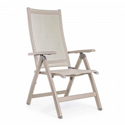Odchylany Fotel Zewnętrzny z Aluminiową Konstrukcją, Homemotion - Ursula
