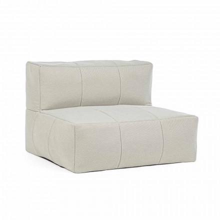 Fotel ogrodowy tapicerowany zdejmowaną tkaniną, Homemotion - Lydia
