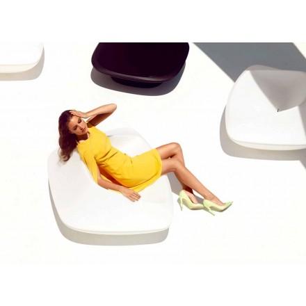 Nowoczesny fotel ogrodowy wykonany z polietylenu Ufo firmy Vondom