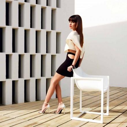 Fotel ogrodowy, polipropylen z włóknem szklanym Wallstreet firmy Vondom
