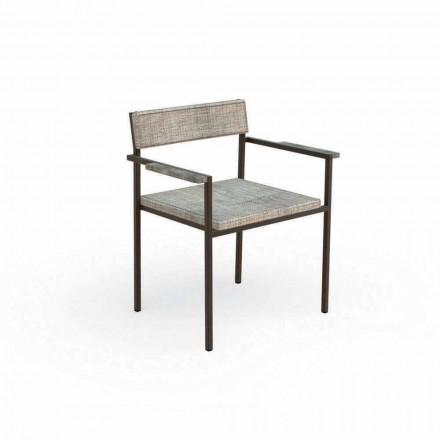 Designerski fotel ogrodowy Casilda Talenti