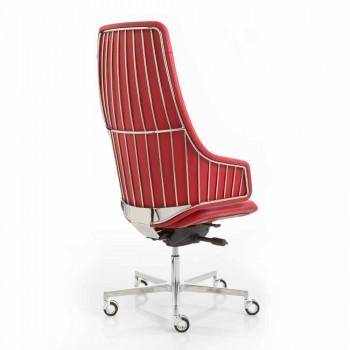 Model Wykonawczy krzesło biurowe włoską Luxy, wykonane we Włoszech