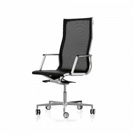Fotel biurowy design ergonomiczny Nulite