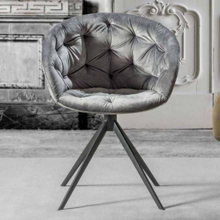 Fotel o nowoczesnym designie, z Capitonnè - Enea
