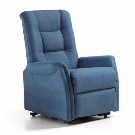 Podnośnik krzesełkowy Relax Lift z 2 luksusowymi silnikami w tkaninie - Victoire
