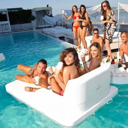 Fotel pływający dwuosobowy design Trona Magnum made in Italy