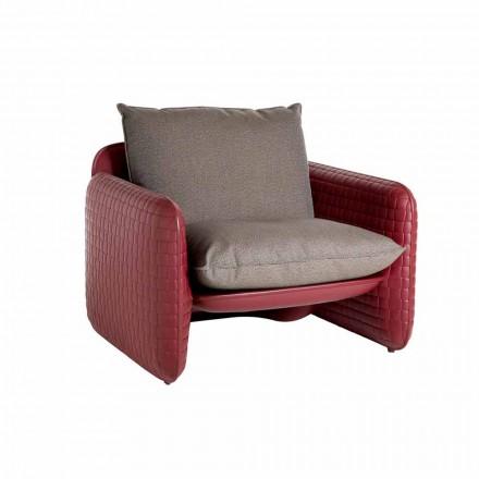 Krzesło zewnętrzne Lounge z wodoodpornymi poduszkami - Mara Slide