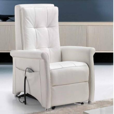 Fotel rozkładany Riser, jednosilnikowy, Via Roma