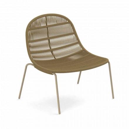 Zaprojektuj fotel ogrodowy z aluminium i tkaniny - Panama od Talenti