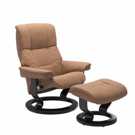 Skórzany rozkładany fotel marki Stressless - Mayfair