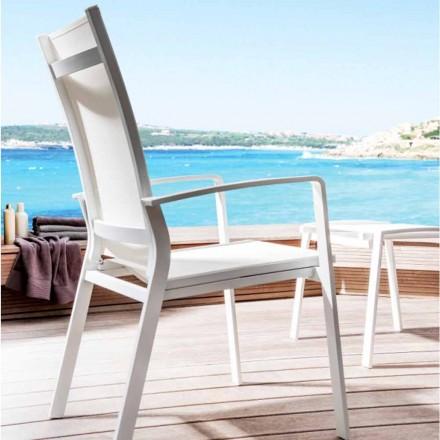 Regulowane krzesło ogrodowe Lady