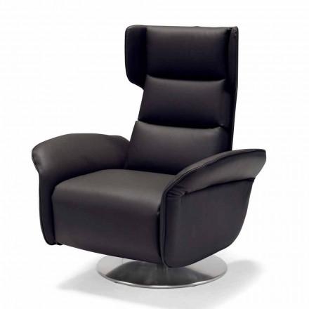 Fotel obrotowy relax 2 silniki wykonane we włoszech, Bao