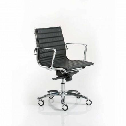 Fotel biurowy nowoczesny design na kółkach Light