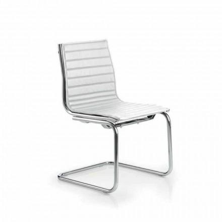 Krzesło biurowe bez podłokietników design, Light