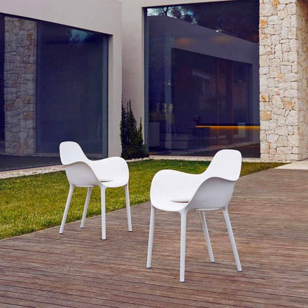 Fotel ogrodowy z polipropylenu, kolekcja Sabinas firmy Vondom