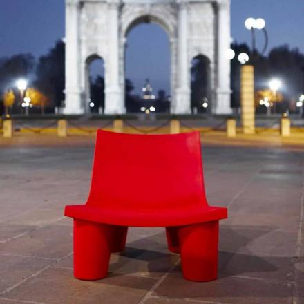 Krzesełko do ogrodu Slide Low Lita kolorowe made in Italy