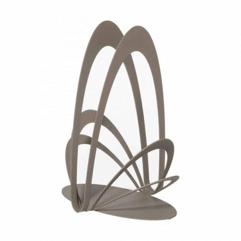 Ręcznie robiony żelazny uchwyt na kubek, wyprodukowany we Włoszech - Futti