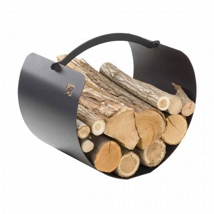 Stojak na drewno z uchwytem wysokiej jakości Made in Italy - Espero