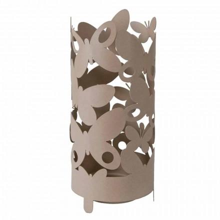 Stojak na parasole z żelaznymi motylami Made in Italy - Maura