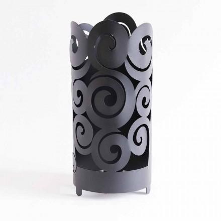 Stojak na parasole o nowoczesnym designie z kolorowego żelaza Wykonany we Włoszech - Astolfo