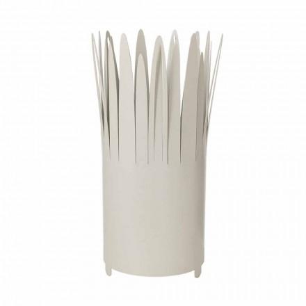 Stojak na parasole o nowoczesnym designie z żelaza z brzytwą Made in Italy - Fuoco