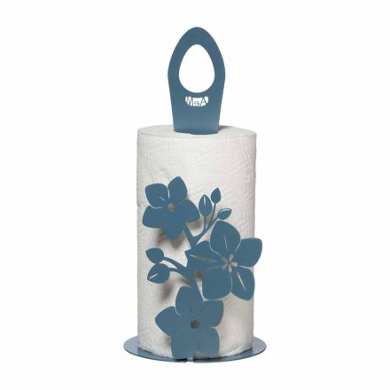 Uchwyt na rolki do kuchni o nowoczesnym designie wykonany z żelaza Made in Italy - Marken