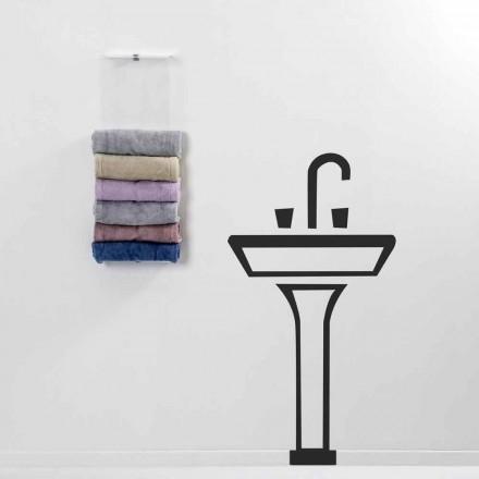 Suszarka do ręczników ściennych Maks. Nowoczesny design wykonany we Włoszech