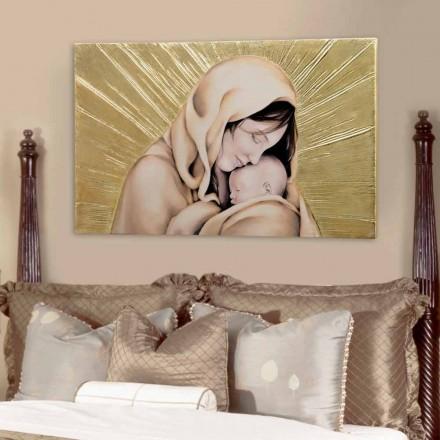 Obraz na ścianę zdobiony design Amore Infinito by Viadurini Decor