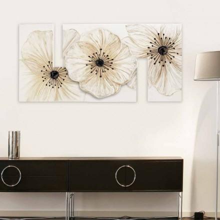 Obraz z kwiatami nowoczesny Petunia Piccola by Viadurini Decor