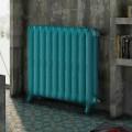 Dekoracyjny żeliwny radiator w zdobionej żeliwnej Tiffany Scirocco H