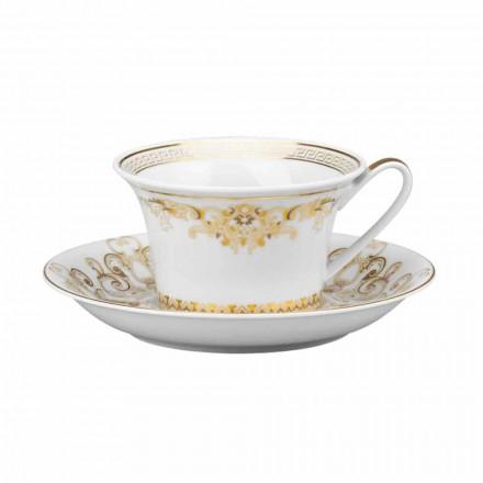 Rosenthal Versace Medusa Gala Teacup w porcelanowej obudowie