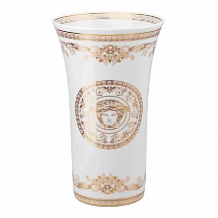 Rosenthal Versace Medusa Gala Porcelanowa waza o wymiarach 34cm